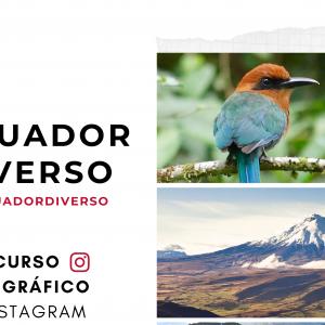 Concurso de fotografía #miecuadordiverso